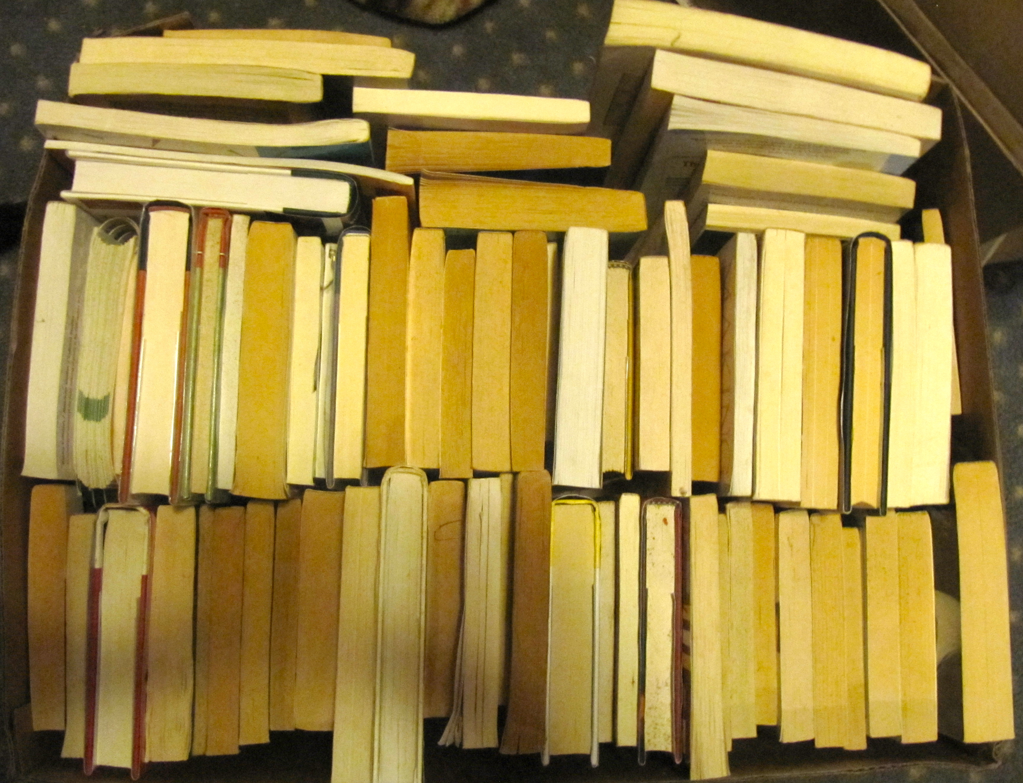 Pounds Of Outgoing Books €� Weighing As Much Img_1301