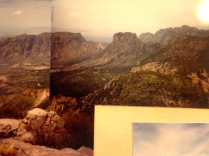 The mountains long ago