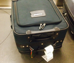 Jerry, your suitcase made it through baggage again!