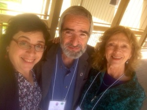 With old friends at the poetry therapy conference in Black Mountain, N.C.